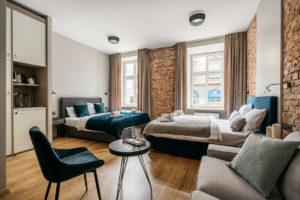 luxury rental apartments in central krakow